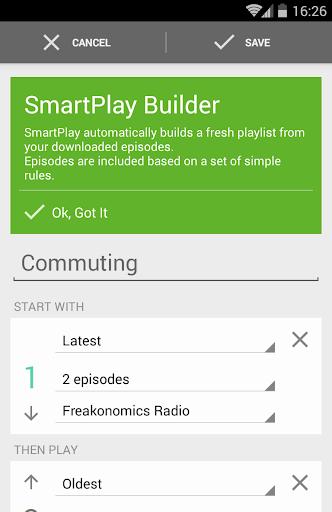 BeyondPod Podcast Manager screenshot 6