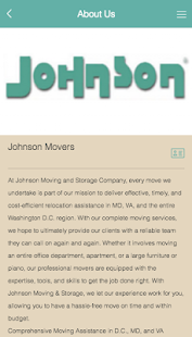 Johnson Moving & Storage Co.- screenshot thumbnail