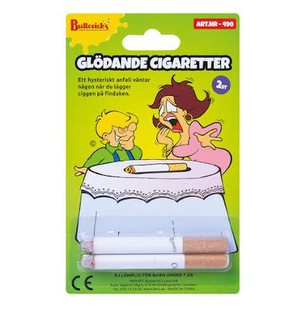 Glödande cigaretter 2st