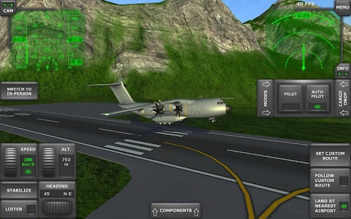 Turboprop Flight Simulator 3D Screenshot