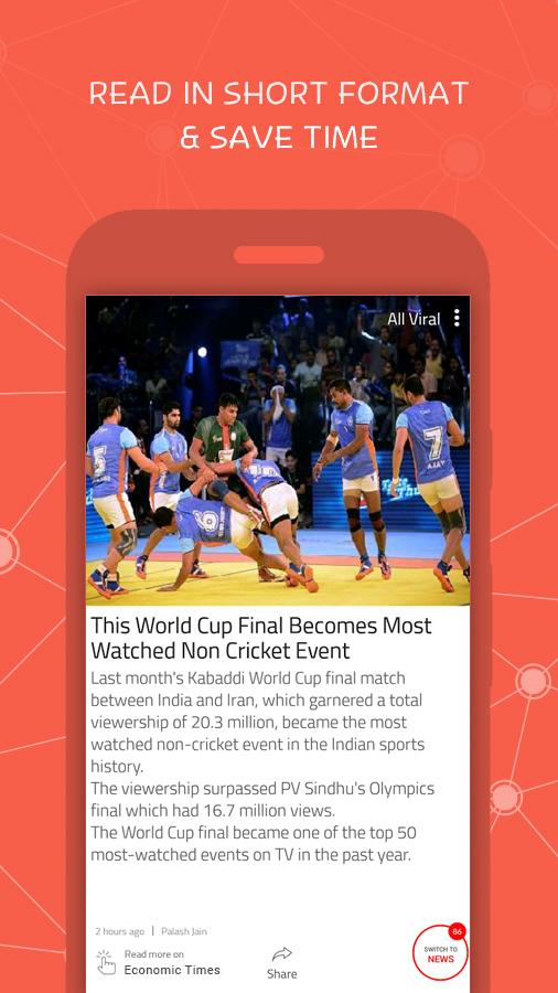 ViralShots: News & Stories App- screenshot