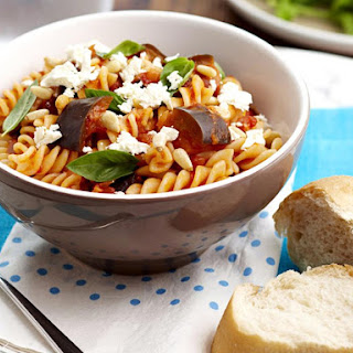 Eggplant Tomatoes Feta Cheese Pasta Recipes