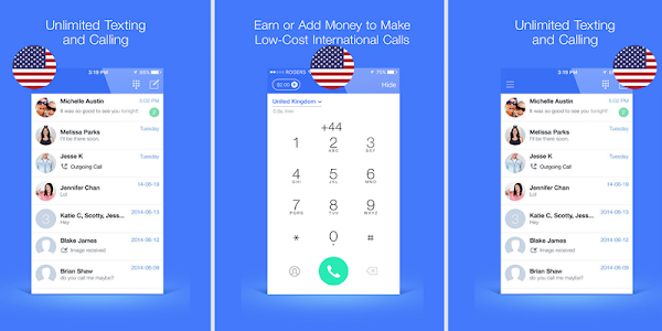 Text Now calls Free US Number 1 0 1 1 + (AdFree) APK for Android