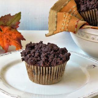 Gluten Free Chocolate & Pumpkin Crumb Muffins
