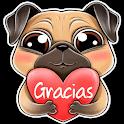 Sticker de Gracias para WastickerApp icon