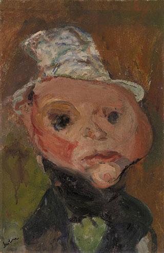 Хаим Сутин. Белая шляпа.
