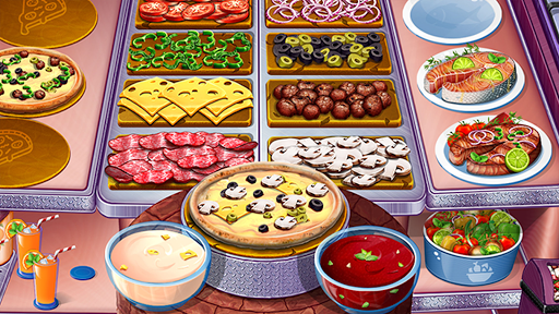 Cooking Urban Food - Fast Restaurant Games - screenshot