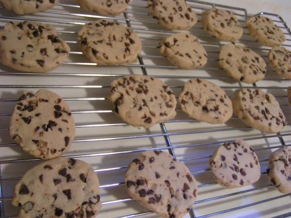 Once cookies have baked, remove from oven and allow 5 minutes cooling time on...