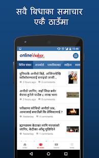 Onlinekhabar - náhled