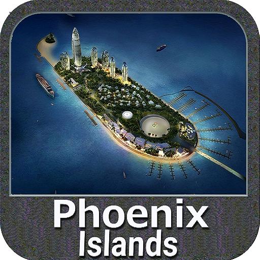 Phoenix Islands GPS Nautical and Fishing Charts