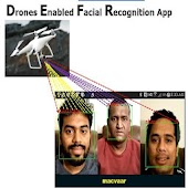 DJI Face Recognition by Drones