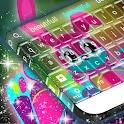 Neon Bunny Keyboard icon