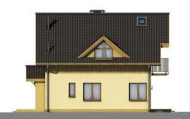 D64 - Tomasz wersja drewniana - Elewacja przednia