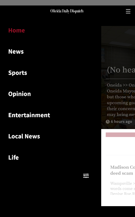 Oneida Dispatch for Android- screenshot