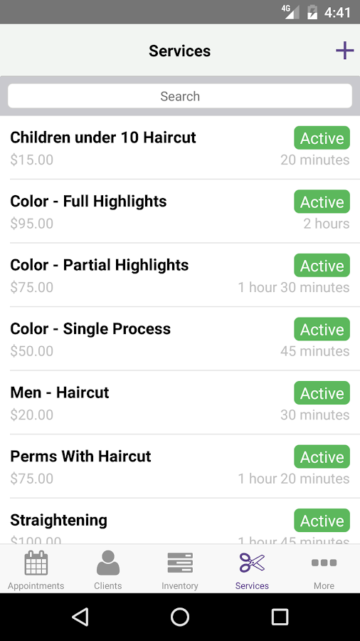 MyCuts - Salon Booking App- screenshot