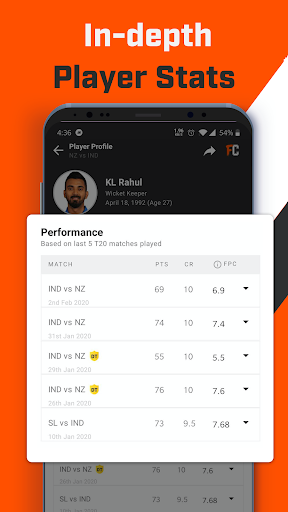 FanCode: Cricket Live Stream & Sports Live Scores 3.28.0 screenshots 4