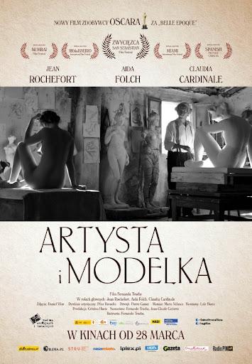 Polski plakat filmu 'Artysta i Modelka'