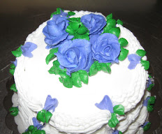 Wedding Cake With 3 Layers Decorated