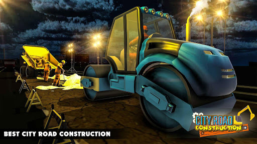 Mega City Road Construction Machine Operator Game modavailable screenshots 3