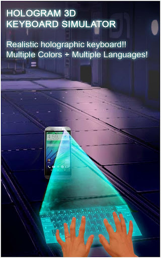 Hologram 3D Keyboard Prank screenshot