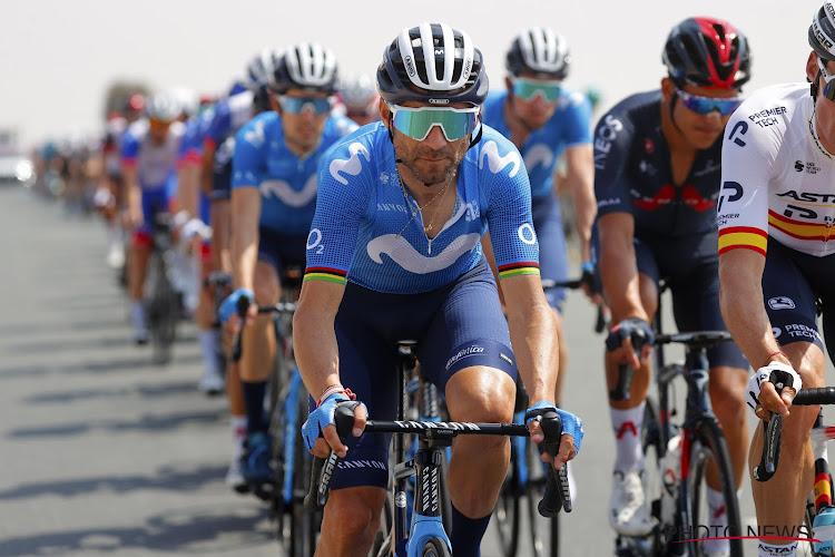 """Jarige Alejandro Valverde maakt indruk, maar haalt net geen podium in Luik-Bastenaken-Luik: """"In de sprint viel alle verantwoordelijkheid op mijn schouders"""""""