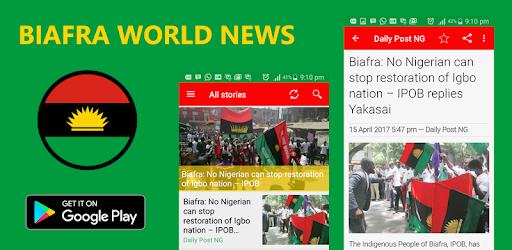 Biafra World News + Radio + TV - Apps on Google Play