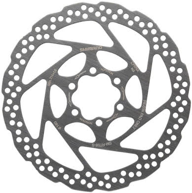 Shimano RT56S 160mm 6-Bolt Disc Brake Rotor, Resin Pad Only alternate image 0