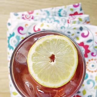 Sweet Tea Cocktail.