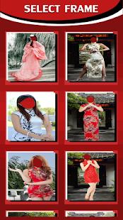 Chinese Dress Photo Editor - náhled