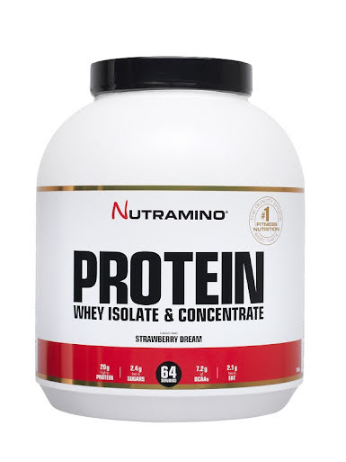 Nutramino Whey Protein 1,8kg - Strawberry Dream