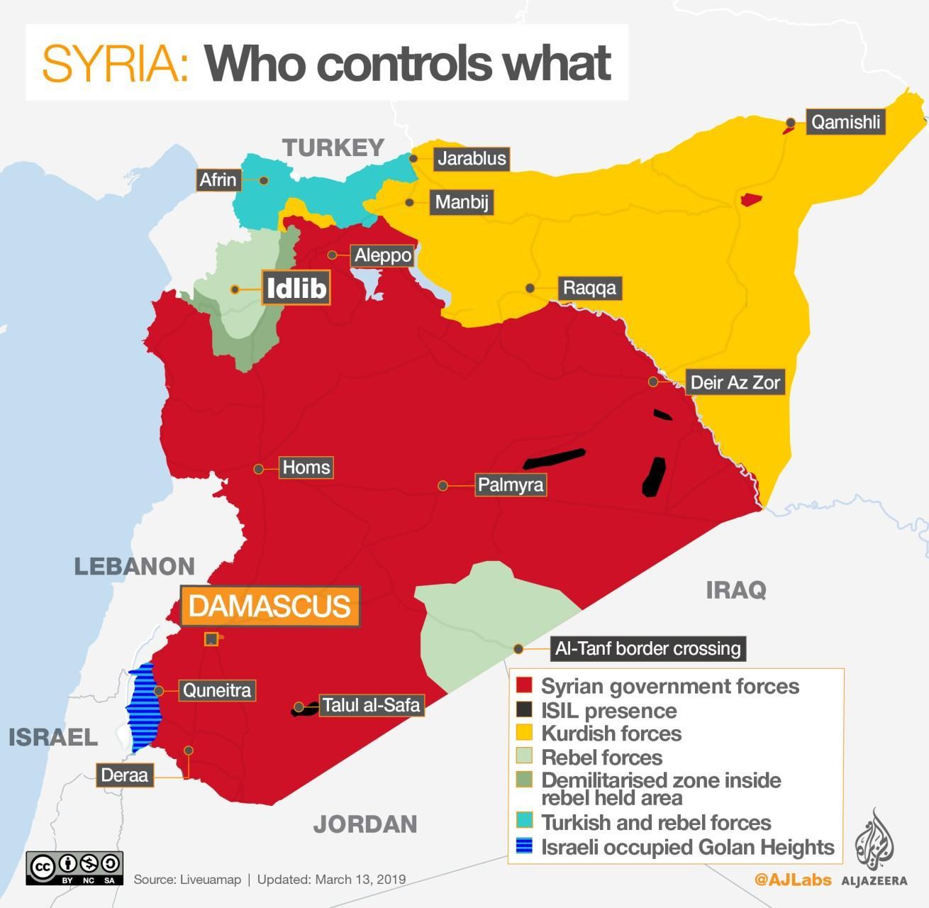 Guerra De Siria Mapa.Los Retos De La Siria De Al Asad Cuando Acabe La Guerra El