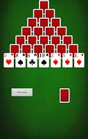 Screenshot of Pyramid [card game]