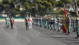 Felipe VI, en la base militar de Viator.