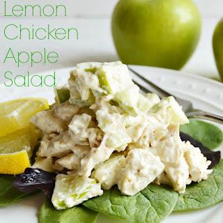 Lemon Chicken Apple Salad.