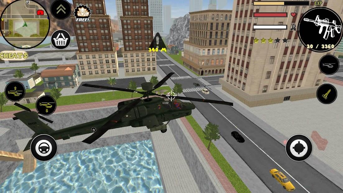 Spider Stickman Rope Hero Gangstar Crime screenshot 2