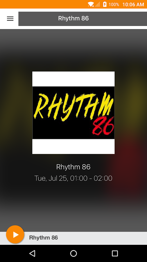 RHYTHM 86- screenshot