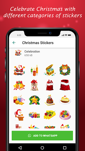 Christmas Chat Stickers 2020 - WAStickerApps hack tool