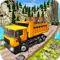 Real Truck Driver Cargo Legends Wood Transporter icon