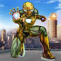 Iron Spider Ninja Rope Hero Kid - Superhero Games icon