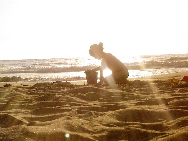Lavori di sabbia... di CristinaRossi