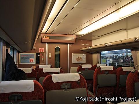 JR西日本 キハ189系「はまかぜ」 1号車車内