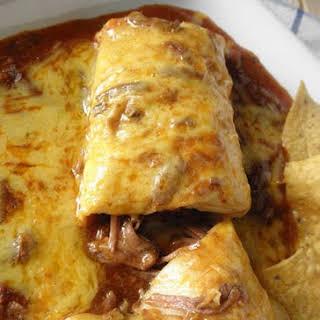 Chile Colorado Burritos.