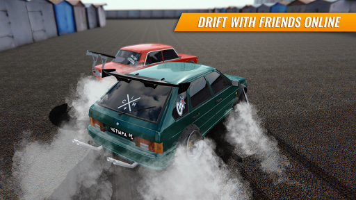 Russian Car Drift APK MOD screenshots 1