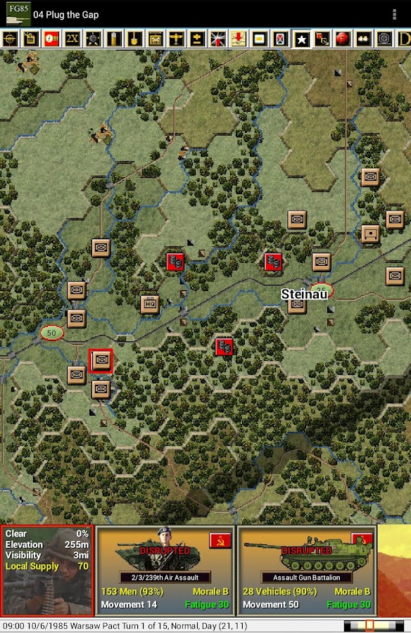 Modern Campaigns- FuldaGap '85- screenshot