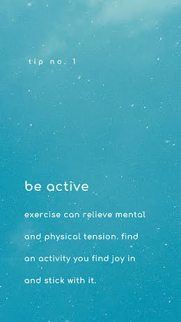 Be Active - Facebook Story item