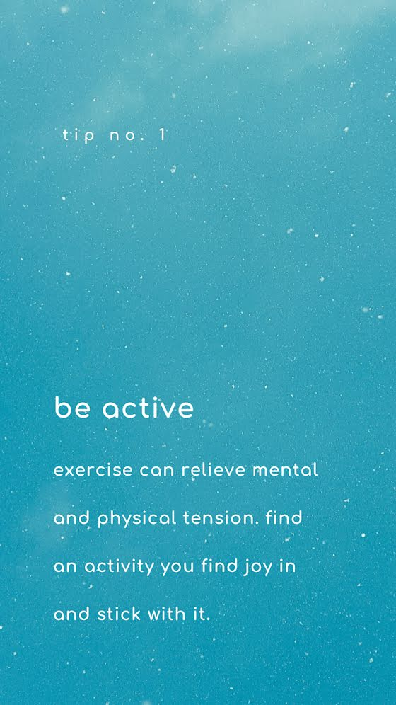 Be Active - Facebook Story Template