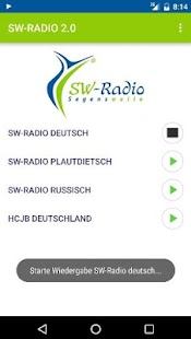 SW-Radio Segenswelle- screenshot thumbnail