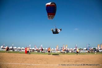 Photo: Guillaume Bernier en Pilotage sous Voile aux 5th DIPC 2014