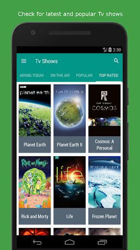 Movie & TV Listings – Recommendations & Reviews v1.9 screenshots 4