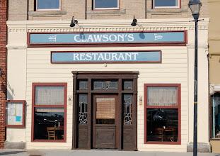 Photo: Clawson's was originally a grocery store - Clawson's Grocery and Bakery 1909 Photo courtesy David Sobotta